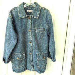 Vintage Jacket Womens Small Oversized Lagenlook
